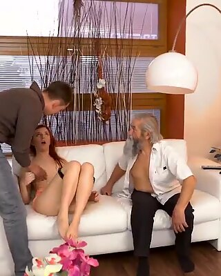 Old granny fat Unexpected experience with an older gentleman