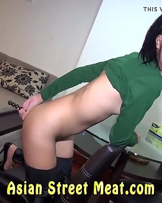 Ass Fucked Asian With Coconut Oil