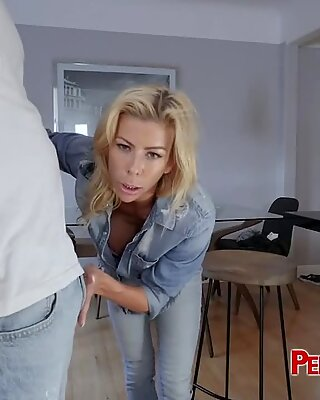 THICK fat cock smashing MILF s pussy doggystyle