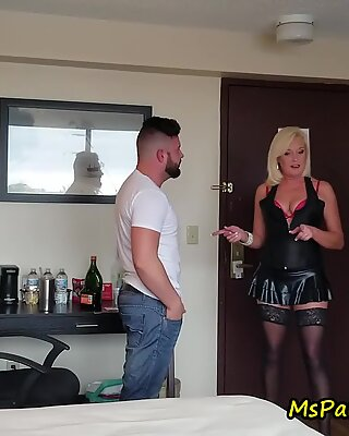 Bisexual Strippers Cum to the Party