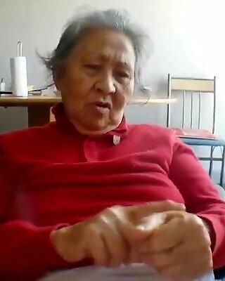 asian granny slut