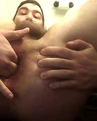 Sexy Stud Fingers His Pink Butthole ( Camguyspro.com )